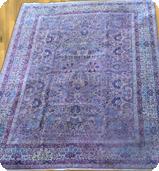 Violet Dye Washed Rug
