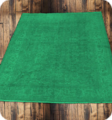 Green Dye Washed Rug